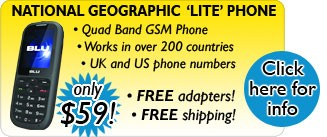 National Geographic 'Lite' Phone