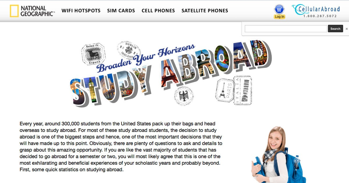 the important decision of studying abroad Choosing to study abroad may well turn out to be the biggest decision of your life, which is why everything associated with it should be given serious and long consideration as important as deciding on the country you head to for further studies, is the course itself that you choose to study.